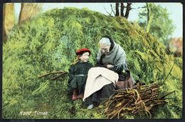 Grand-mère Et Petite Fille - Circulé - Circulated - Gelaufen - 1908. - Femmes