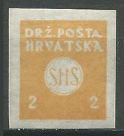 Yougoslavie Timbres Pour Journaux YT N°2 Neuf/charnière * - Zeitungsmarken