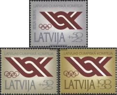 Latvia 323-325 (complete Issue) Unmounted Mint / Never Hinged 1992 NOK - Latvia