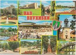 BAD BEVENSEN, Multi View, Germany, 1982 Used Postcard [21909] - Bad Bevensen