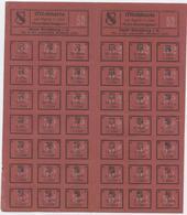 II Guerre Mondiale, Alsace, Occupation Allemande, Ravitaillement, Carte De Lait, Strasbourg, Milchkarte, Stadt Strasburg - Historical Documents