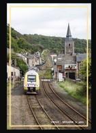 08  VIREUX  MOLHAIN  .... La  Gare  Et  Train - France
