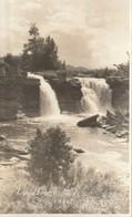 Lundbreck Falls, Crowsnest Highway, Alberta  RPPC - Alberta
