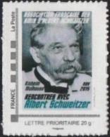 FRANCE 2015 Timbre Personnalisé MonTimbraMoi MTAM SCHWEITZER Rencontres AFAAS Rixheim Nobel - Albert Schweitzer
