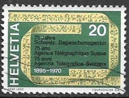 1970 20c Telegraphy, Used - Switzerland