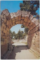 Greece, OLYMPIA, The Krypte, Entrance To The Stadium, Unused Postcard [21913] - Greece