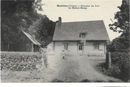 89 CPA MEZILLES DOMAINE DU FORT LA MAISON ROUGE - Autres Communes