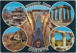 Souvenir From CORINTH, Greece, Unused Postcard [21915] - Greece