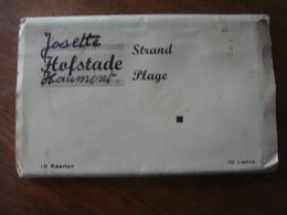 Carnet Avec 10 Cartes (complet) De HOFSTADE ( Zemst ) Strand Plage ( Super Prix ) - Zemst