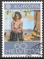 1975 60c Europa Painting, Used - Switzerland