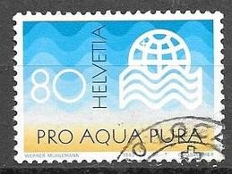 1982 80c Water, Used - Switzerland