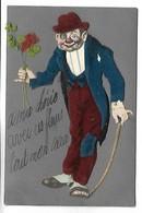 Carte Fantaisie - HOMME En Feutrine - Men