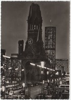 Berlin, Gedachtniskirche, 1963 Used Real Photo Postcard [21920] - Germany