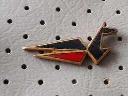 Modra Ptica Domzale Modeling Association And Aeronautics Slovenia Pin - Associations