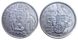 05283 GETTONE TOKEN JETON SLOVACCHIA COMMEMORATIVE  PONITRIE TRNAVSKO LANDS OF SLOVACCHIA 2011 - Tokens & Medals