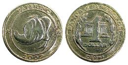 05280 GETTONE TOKEN JETON ADVERTISING DISNEY MONETE BANCA DI PAPEROPOLI PAPERINO 1 DOLLARO 2009 - Italy