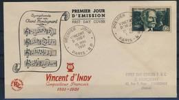 FRANCE    N° 890 - FDC
