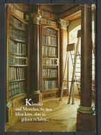 Deutschland Postkarte Fotokunst Unterhaltung Buchregal Bücher Bibliothek Gesendet 2000 Mit Briefmarke - Philosophy