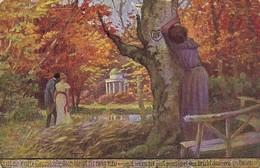 AK F. Korwan - Es Ist Eine Alte Geschichte - Liebespaar - Ca. 1910 (36610) - Paare