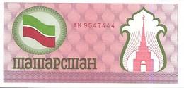Tatarstan P5b, 100 Rubles, 1991, Castle & Flag, Uncirculated USBN Co $25 Cat Val - Tatarstan