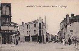 MONTBRISON Carrefour St Jean Et Rue De La Republique - Montbrison