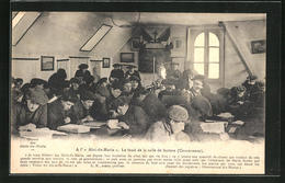 """CPA Guilvinec, A L' """"Abri -du-Marin"""", Le Fond De La Salle De Lecture, Anti-Alkohol - Guilvinec"""