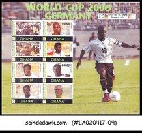 GHANA - 2006 WORLD CUP 2006 GERMANY / FOOTBALL / SOCCER - M/S MNH - Soccer