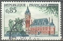 1961 0.85fr Calais, Used - France