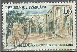 1961 1.00fr Roman Gates, Algeria, Used - France