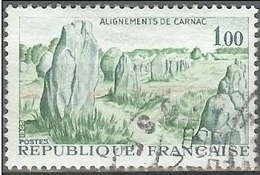 1965 1.00fr Carnac, Used - France
