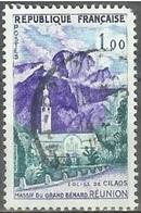 1960 1.00fr Reunion Church, Used - France