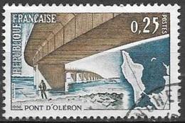 1966 0.25fr Pont D'Oleron, Used - France