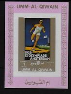 UMM AL QIWAIN  BF De Luxe   * *    NON DENTELE   Jo 1928 Course - Summer 1928: Amsterdam