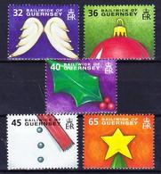 GUERNSEY 2004 YT N° 1038 à 1042 ** - Guernesey