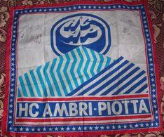 Flag HC AMBRI-PIOTTA With Autographs - 65x75cm - Autógrafos