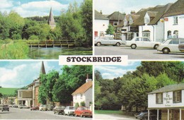 Postcard Stockbridge Hampshire Multiview  My Ref  B12548 - England