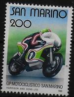 SAINT MARIN  N°  1029   * *  Moto - Moto