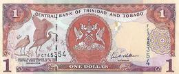 Trinidad & Tobago P46, $1, Scarlet Ibis / Industrial Complex, Oil Complex, UNC - Trinité & Tobago