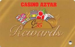 Casino Aztar Evansville, IN - BLANK Slot Card - Casino Cards