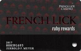 French Lick Resort Casino - French Lick, IN - Slot Card - Casino Cards