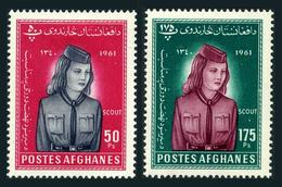 Afghanistan 510-511,MNH.Michel 547-548. Women's Day 1961.Girl Scout. - Afghanistan