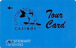 Catfish Bend Casino Burlington, IA Slot Card - TOUR CARD - Casino Cards