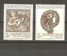 Czechoslovakia - 1971. Prague, Complete Set , MNH /653/ - Czechoslovakia