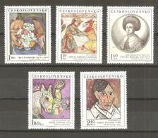 Czechoslovakia - 1972. Art VII, Complete Set , MNH /659/ - Czechoslovakia