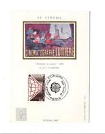 CARTE MAXIMUM 1983 EUROPA LE CINEMA - Maximumkaarten