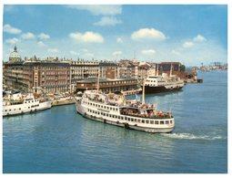 (ORL 78) Denmark - Copenhagen Port And Ferry Ships (with Stamp) - Traghetti
