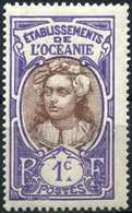 OCEANIA 1913 (*) - Mi. 24, Tahitian   Country Motifs. - Ungebraucht
