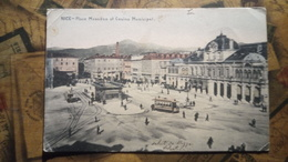 Nice - Place Masséna Et Casino Municipal - Tram - 1905 - Nizza, Costa Azzurra - Squares