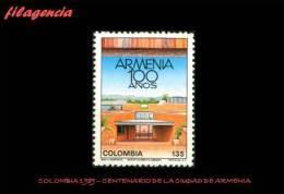 AMERICA. COLOMBIA MINT. 1989 CENTENARIO DE LA CIUDAD DE ARMENIA - Colombia