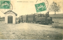 Ronsenac-La Gare ( Carte Rare ) - Autres Communes